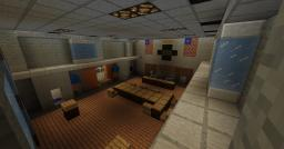 "Call of Duty Black Ops ZOMBIES ""FIVE"" Custom Map Minecraft Project"