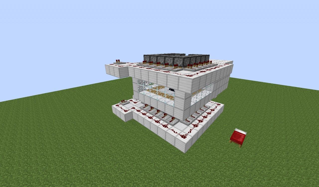 Piston Enchanting Room Minecraft Project