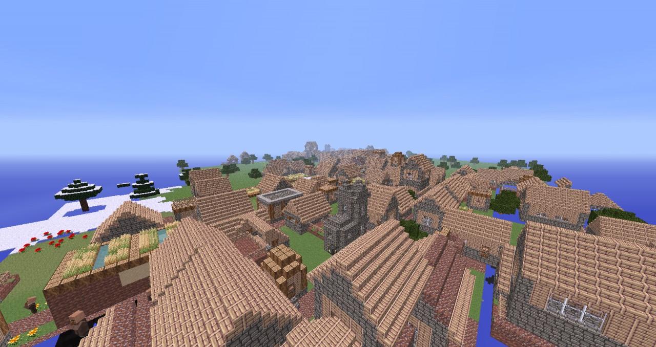 minecraft village map download