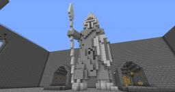 Battlemage Statue Minecraft Map & Project