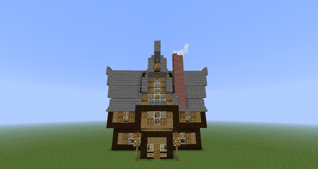 Old House Creative Node App Minecraft Project
