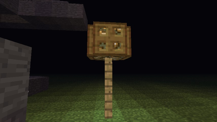 How To Make A Lamp Post Minecraft Blog