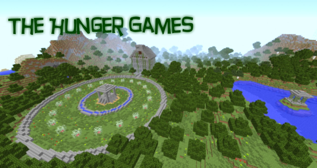 The Minecraft Hunger Games Player Map Done And Download - Minecraft games runterladen