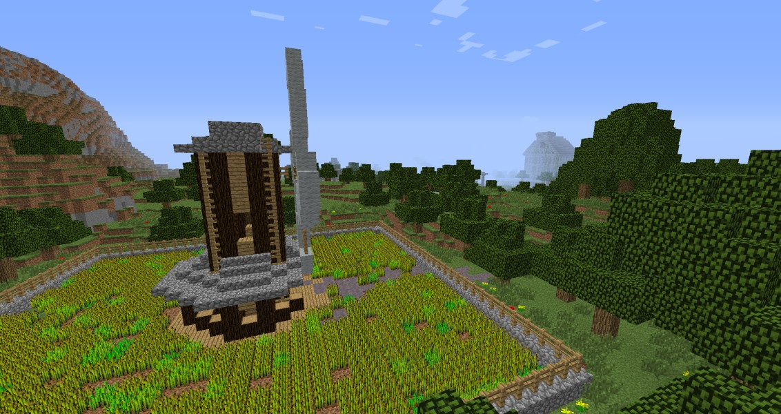The Minecraft Hunger Games 20 Player map Done and