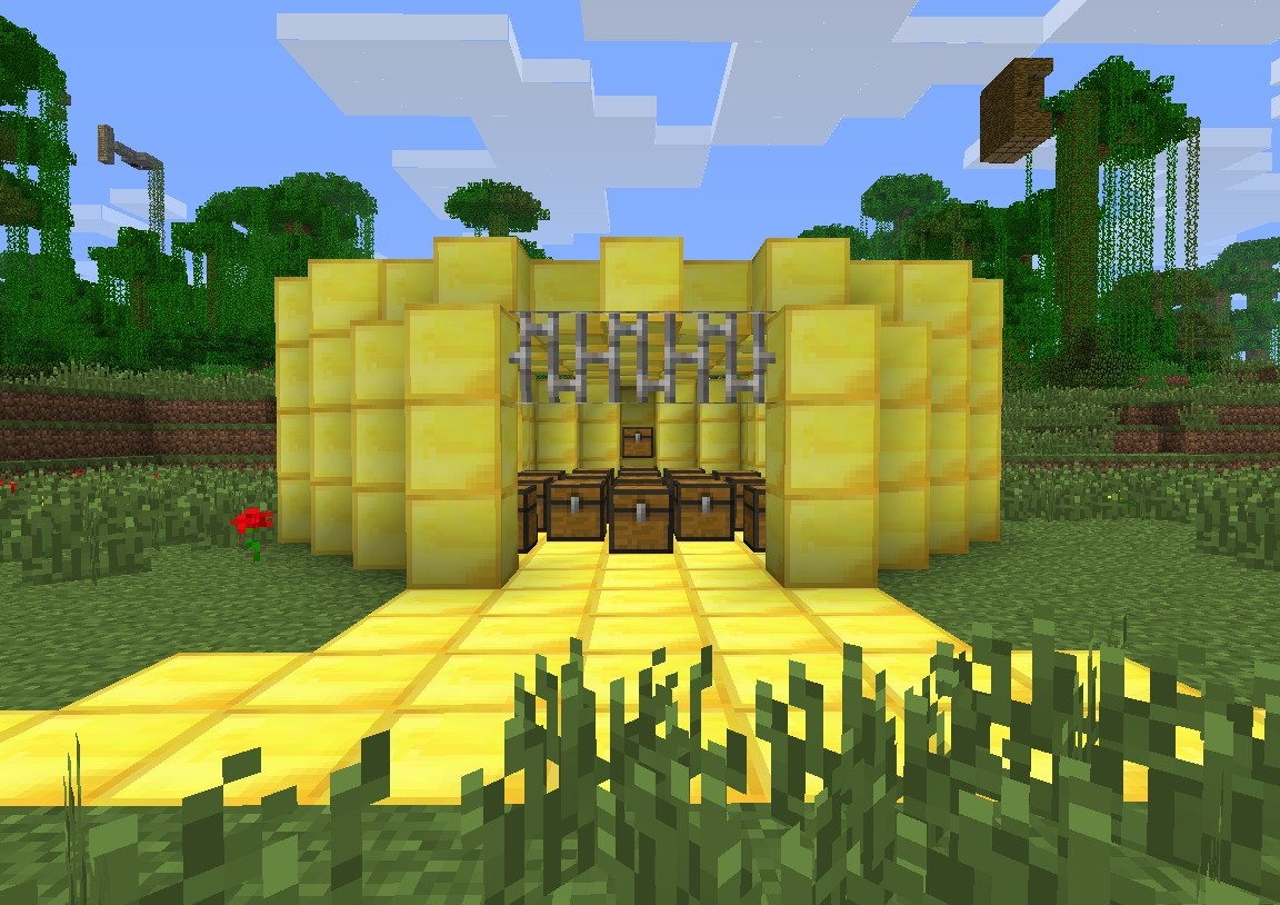 Awesomecraft Hunger Games map version 2.0 Minecraft Project
