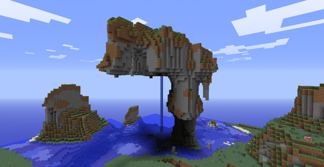 Epic mountain seed Minecraft Project