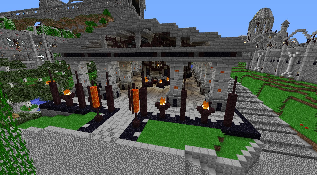 Temple of Hades Minecraft