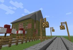 Minecraft cafe Minecraft Map & Project
