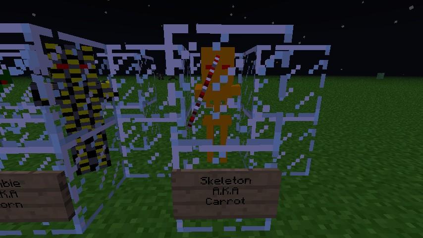 Carrot Skeleton