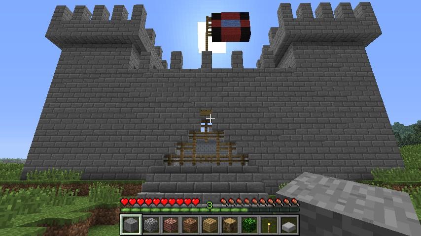 Stone Brick Castle Small Minecraft Project