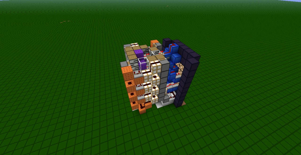 The Smallest 7 Segment Display Counter Re Upload Minecraft Project