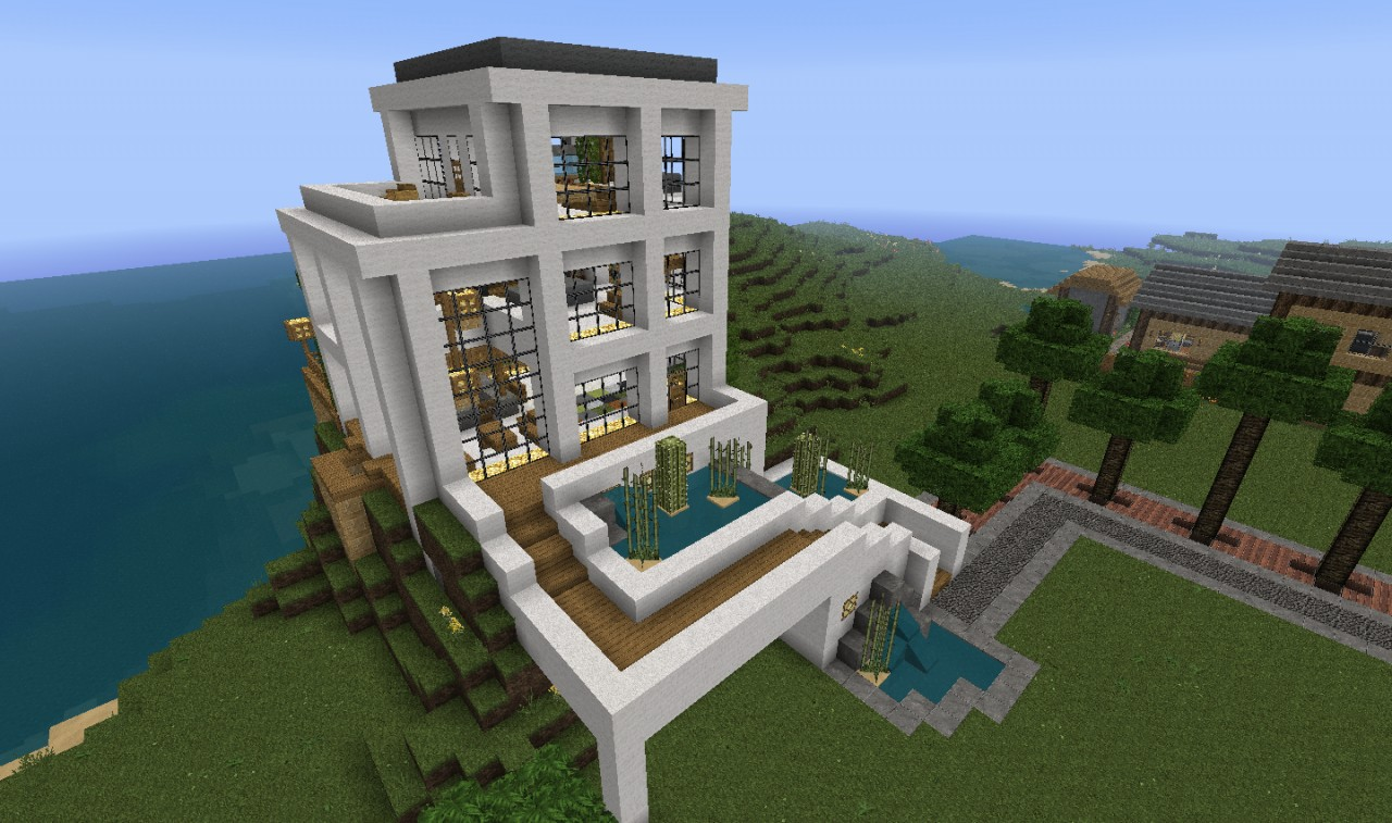 Modern House 2 Minecraft Project