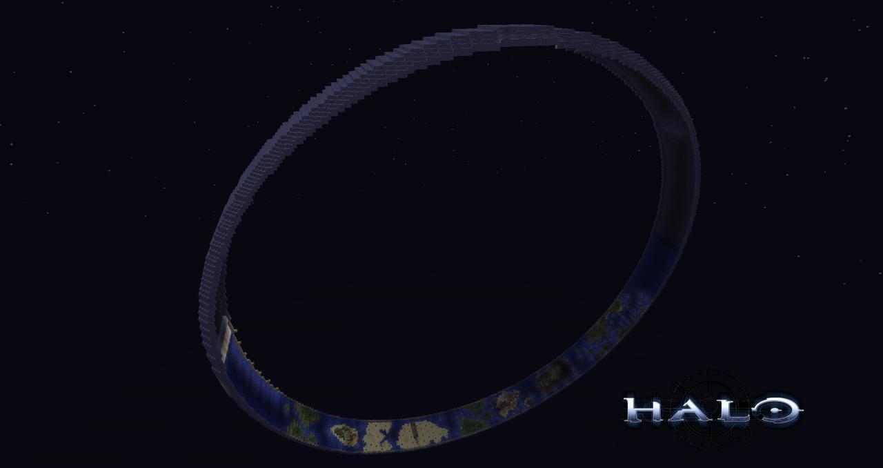 Halo Ring Installation 04 [249x249 Ring] Minecraft Project