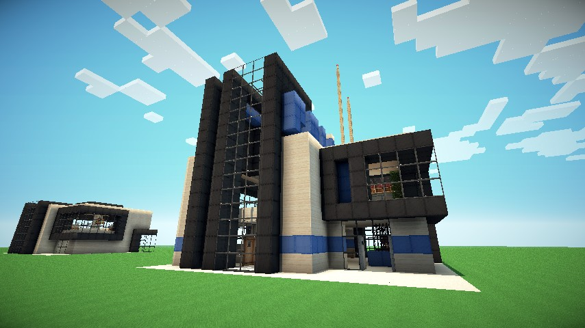 modern police station a toppers101 project minecraft project