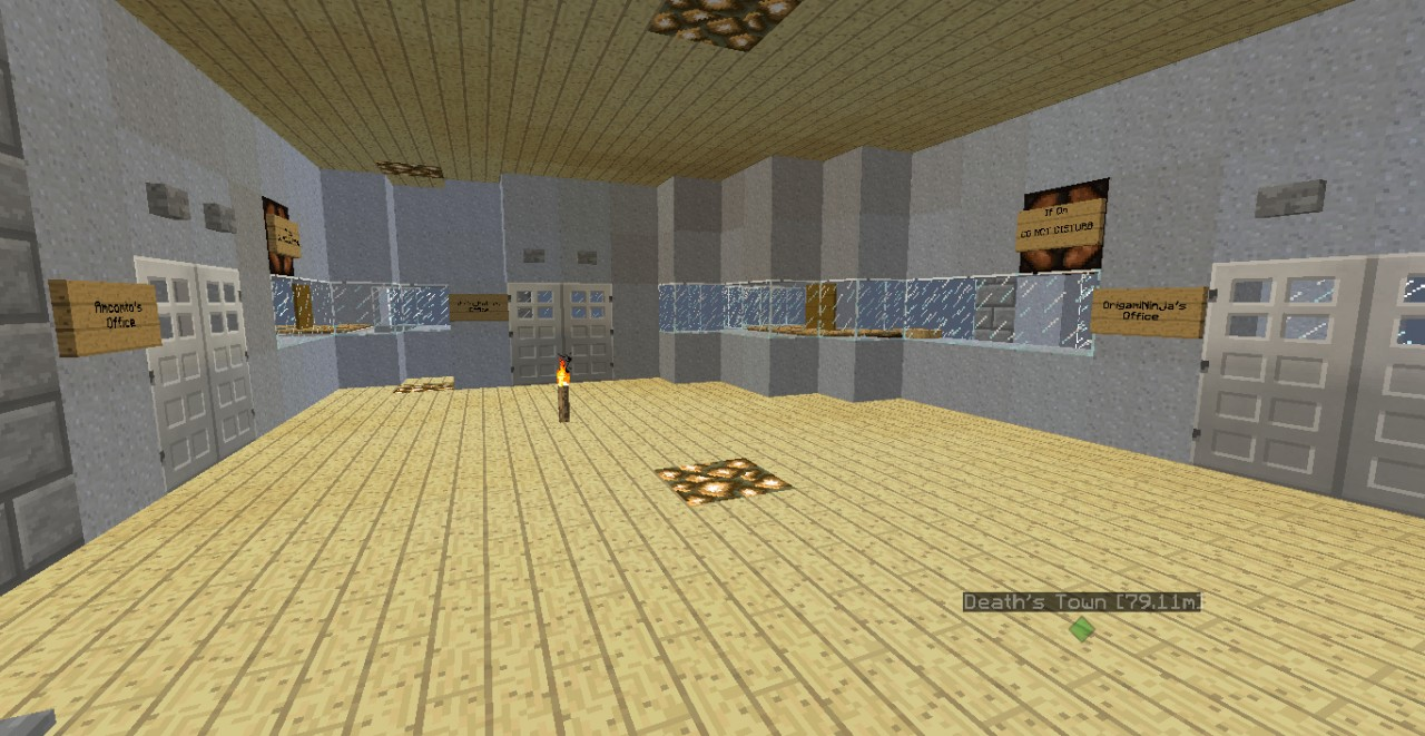Origamininja Amp Co Industries Ninja Towers Minecraft Project