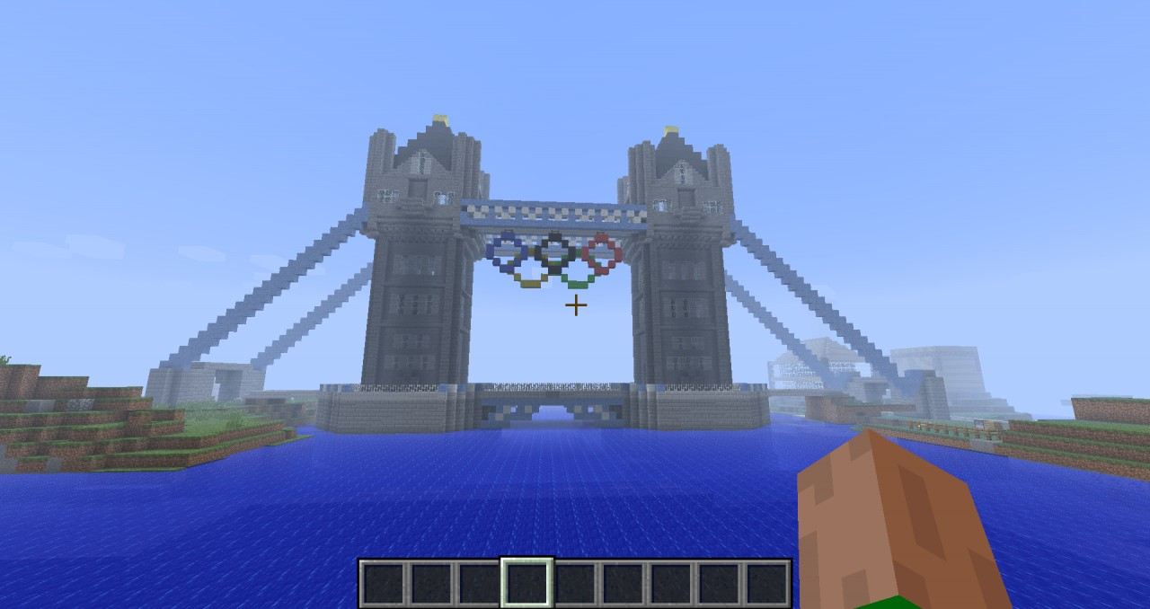 tower bridge london minecraft project
