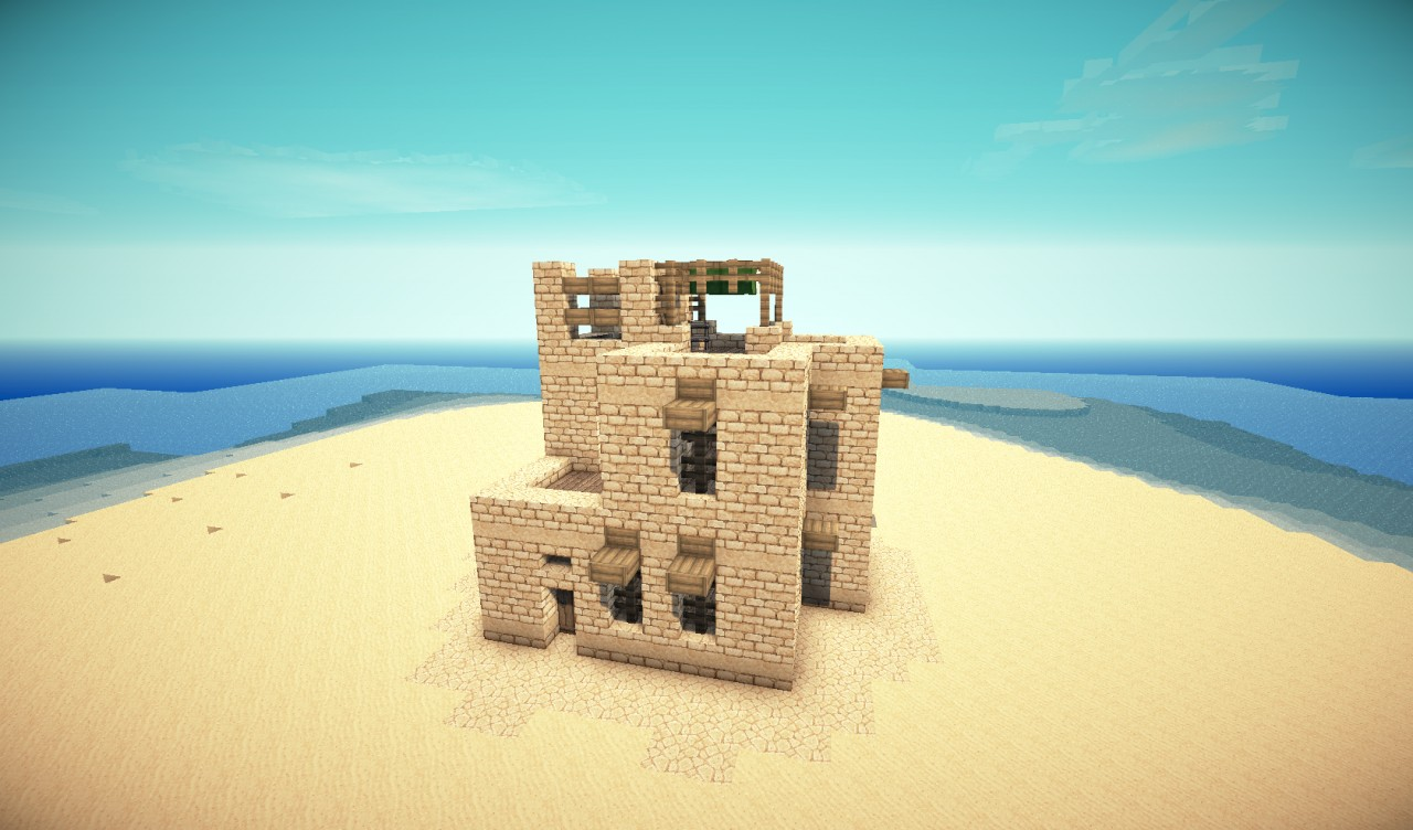 Desert Building Pack Minecraft Project