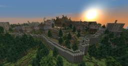 The Medieval Town of Freyr (DL2) Minecraft Map & Project