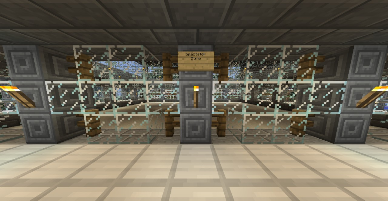 Spleef Arena With Contest Entry Minecraft Project