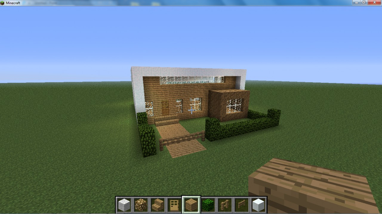 Modern Suburb House Minecraft Project