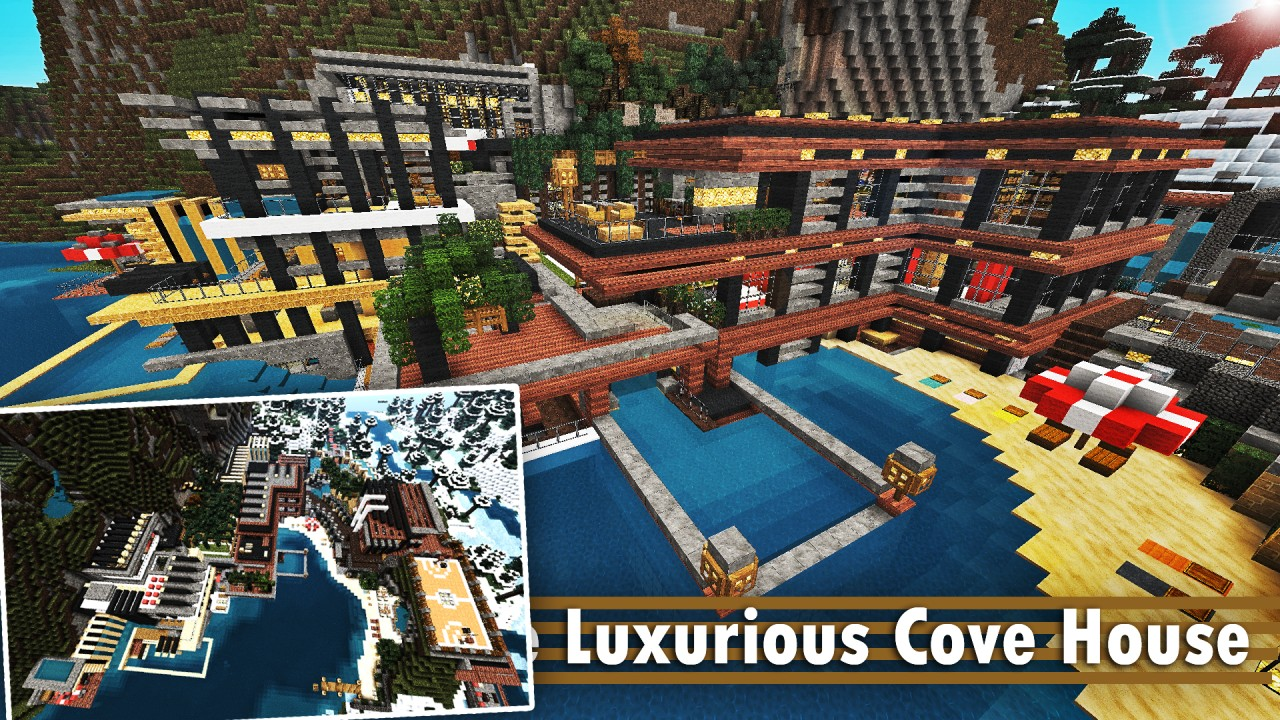 3 2865824 [1.8] Luxurious Cove House Map Download
