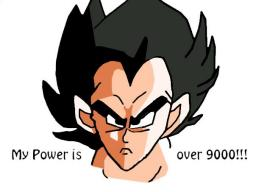 MY POWER IS OVER 9000-A Drawing By me Minecraft Blog
