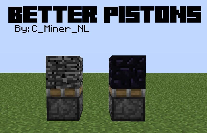 Better Pistons! [1.2.5] [Second Mod] Minecraft Mod