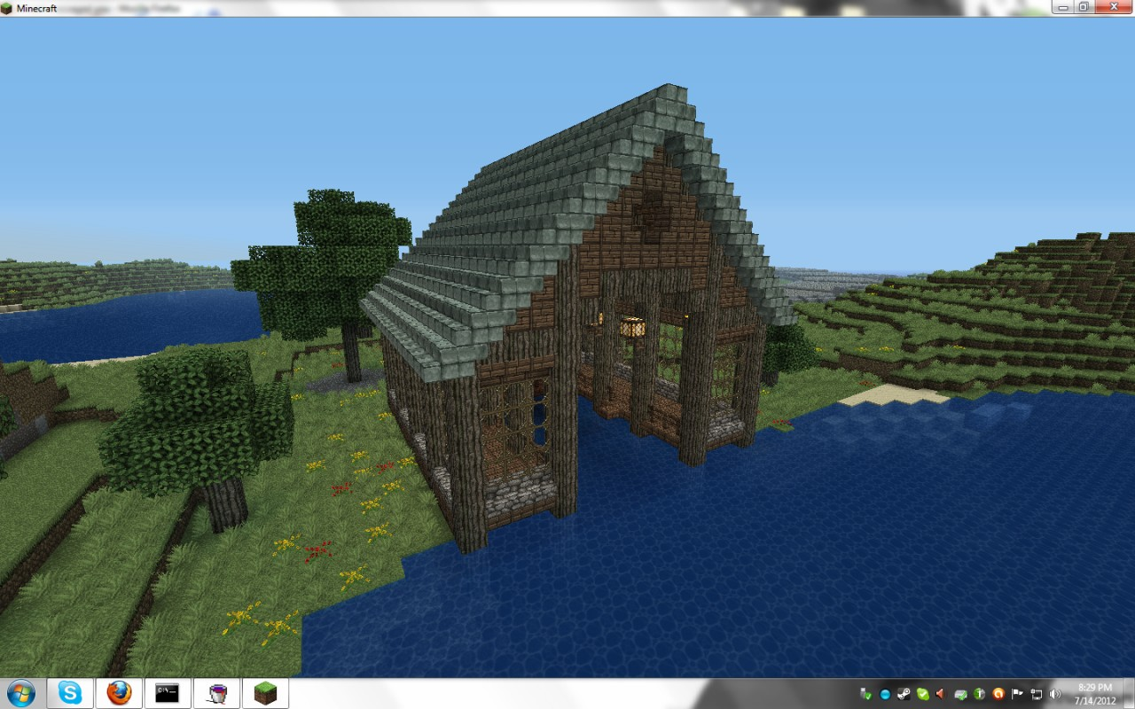 Boat House Minecraft Project