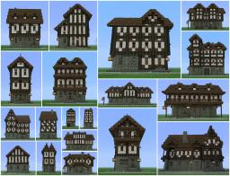 Medieval Building Pack (19 Buildings)