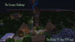 "The Creeper Challenge! Inspired by the ""Survivor"" Series! Minecraft Map & Project"