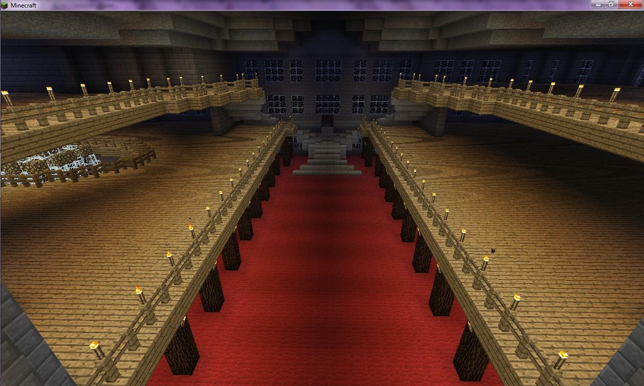 2nd floor corridor view