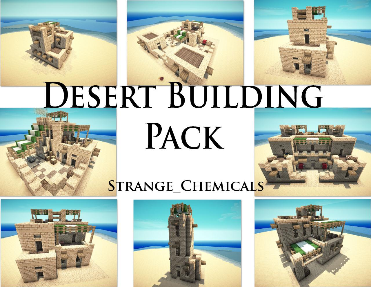 Desert building pack minecraft project for House build ideas