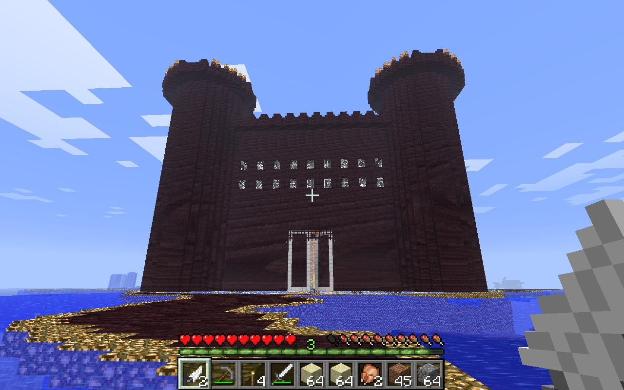 how to get to the nether fortress in minecraft pe