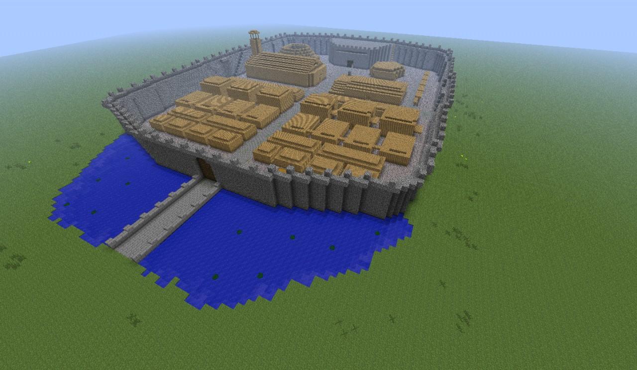 Gród(PvP) Minecraft Project