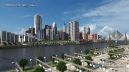 High Rossferry - A realistic modern city Minecraft Project