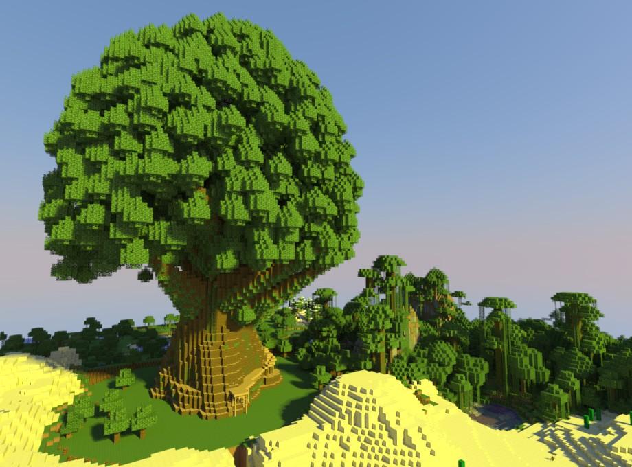 Jungle Trees Minecraft