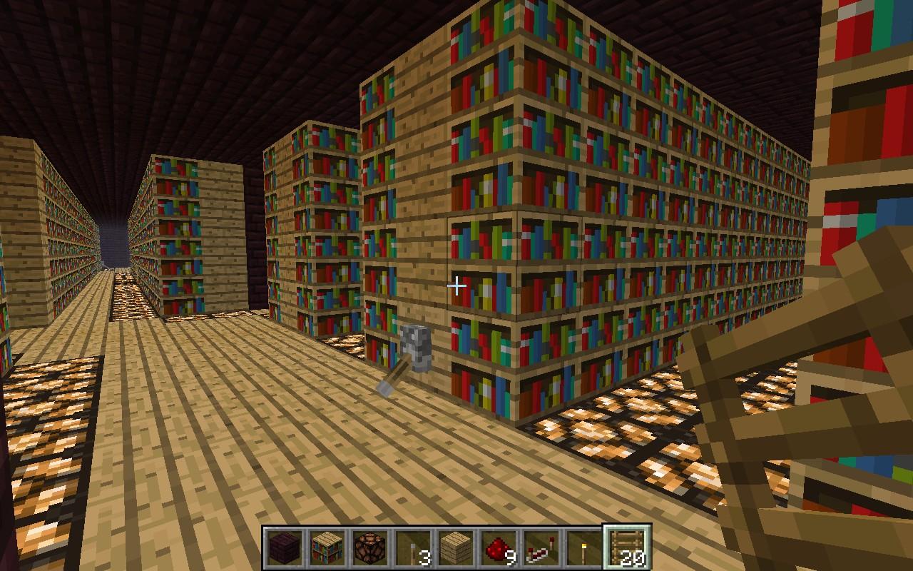 Large Nether Brick Castle Minecraft Project