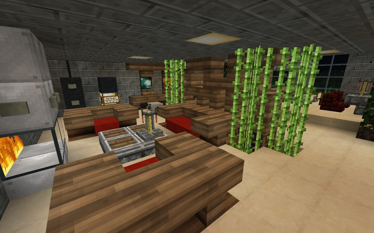 Mcf home minecraft project for Minecraft dining room designs