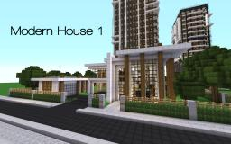 Modern House Series 1 Minecraft Map & Project