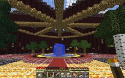 large Nether Brick Castle Minecraft Map & Project