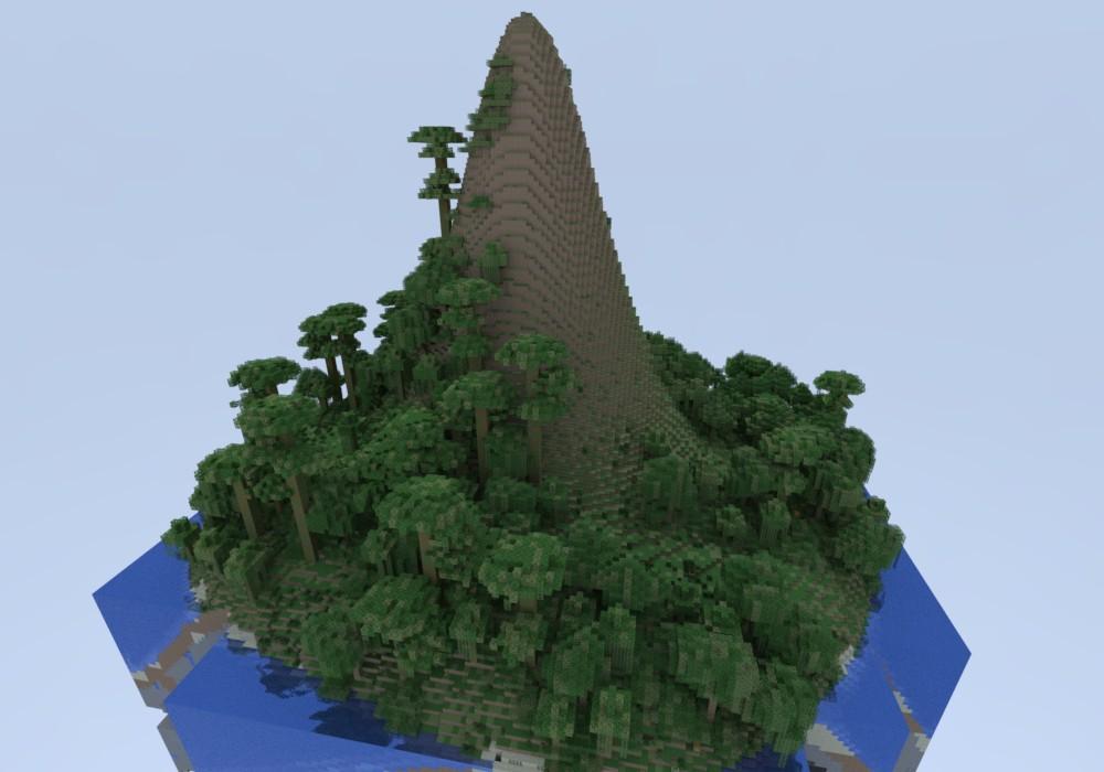 Mountain Island Minecraft