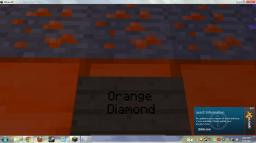 Orange Diamonds, Green Iron and More Minecraft Texture Pack