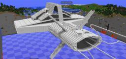 Aurora Class Warship Minecraft