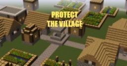 Protect The Village (Mini Survival Map) Minecraft