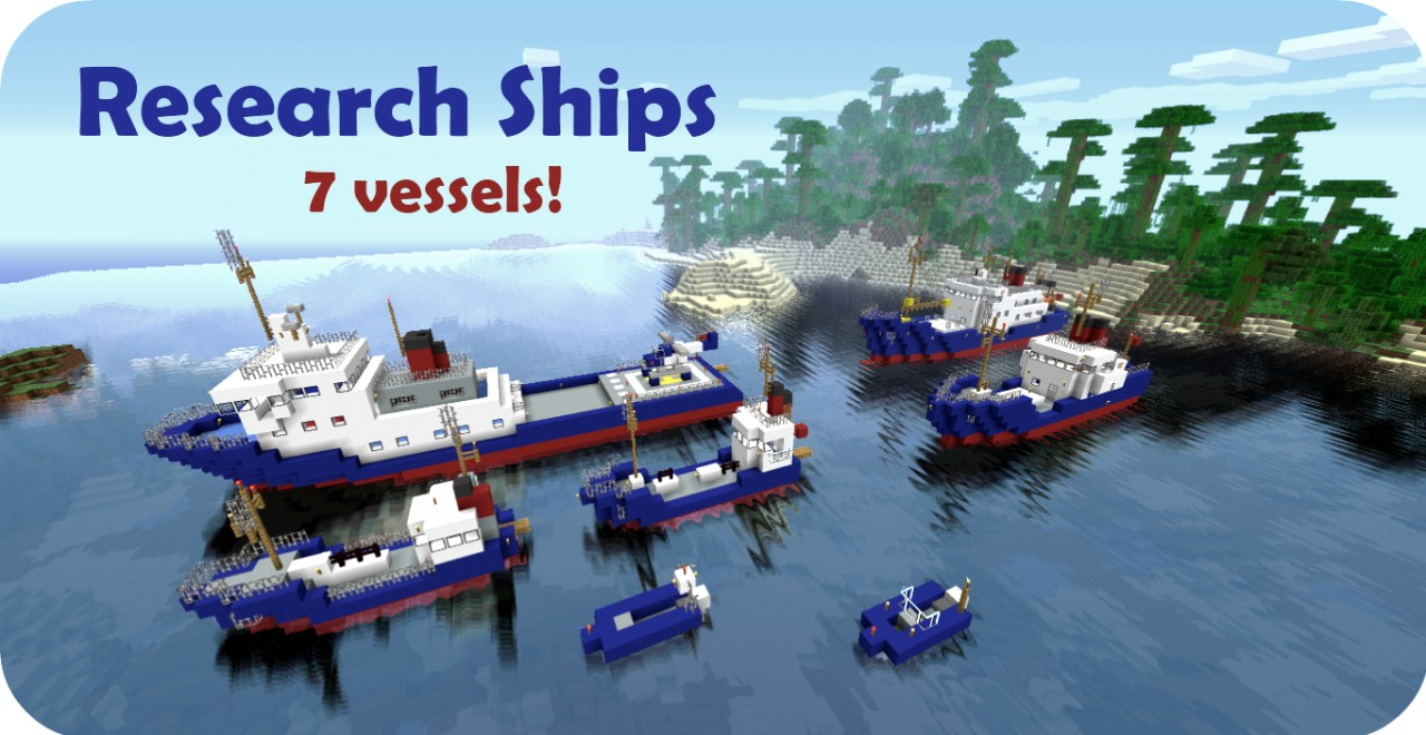 research ships pack