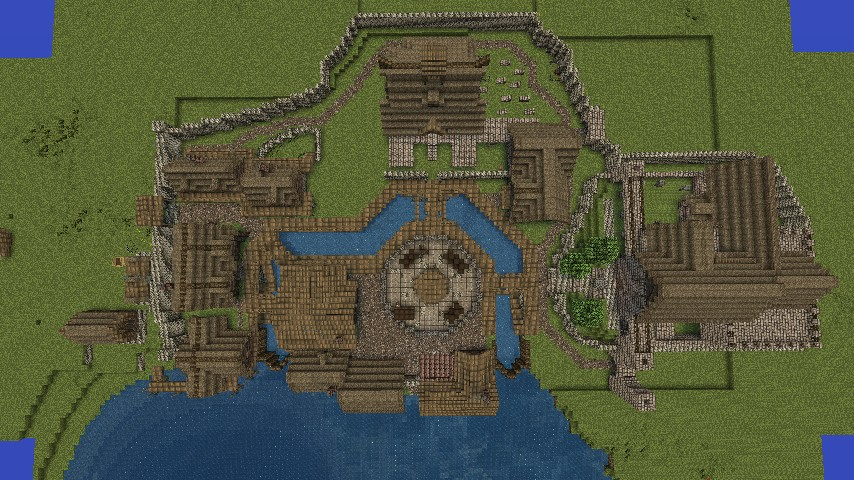 Skyrim map in minecraft minecraft project for Best house designs skyrim