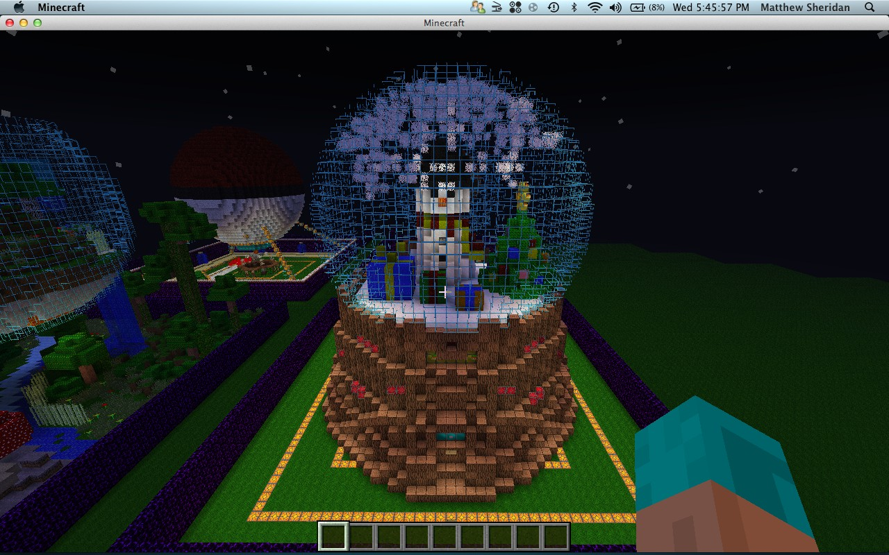 Christmas In July Snowglobe D Minecraft Project