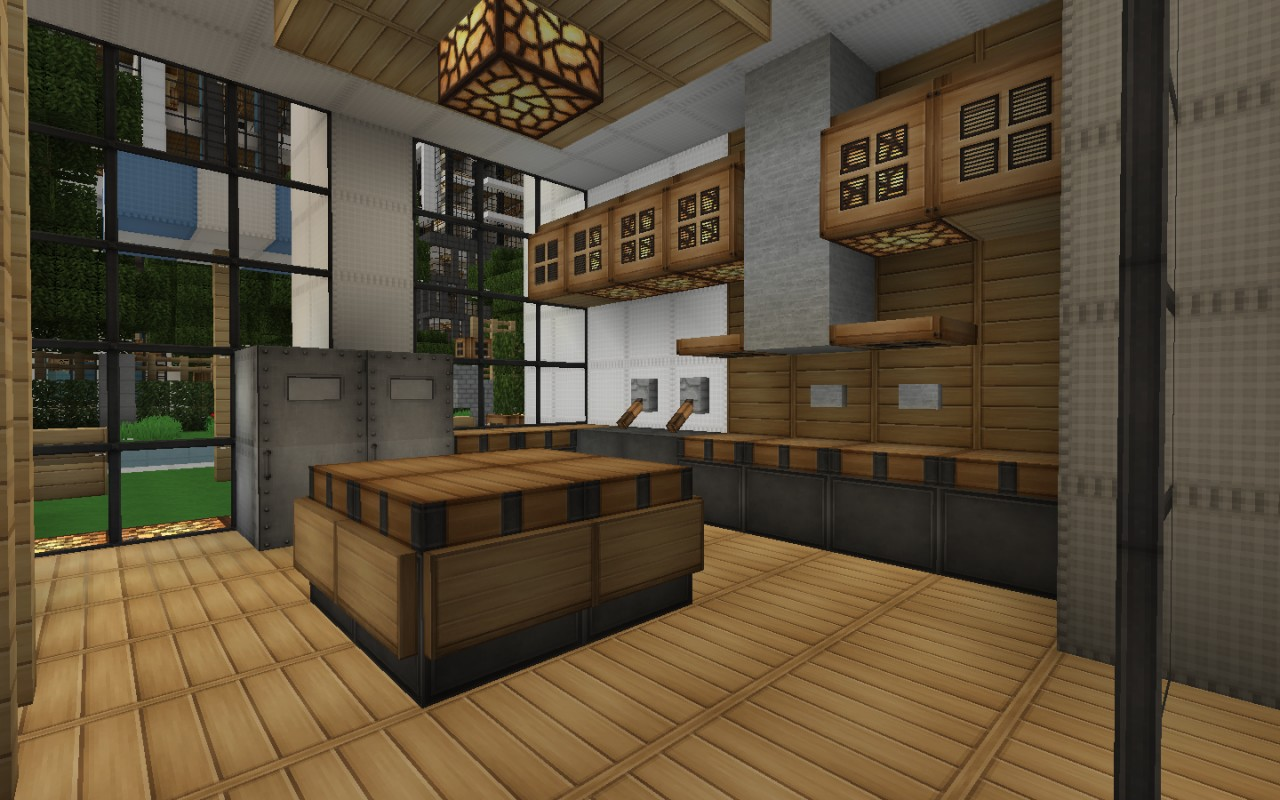 Minecraft Modern Kitchen  Besthomedecor.tk
