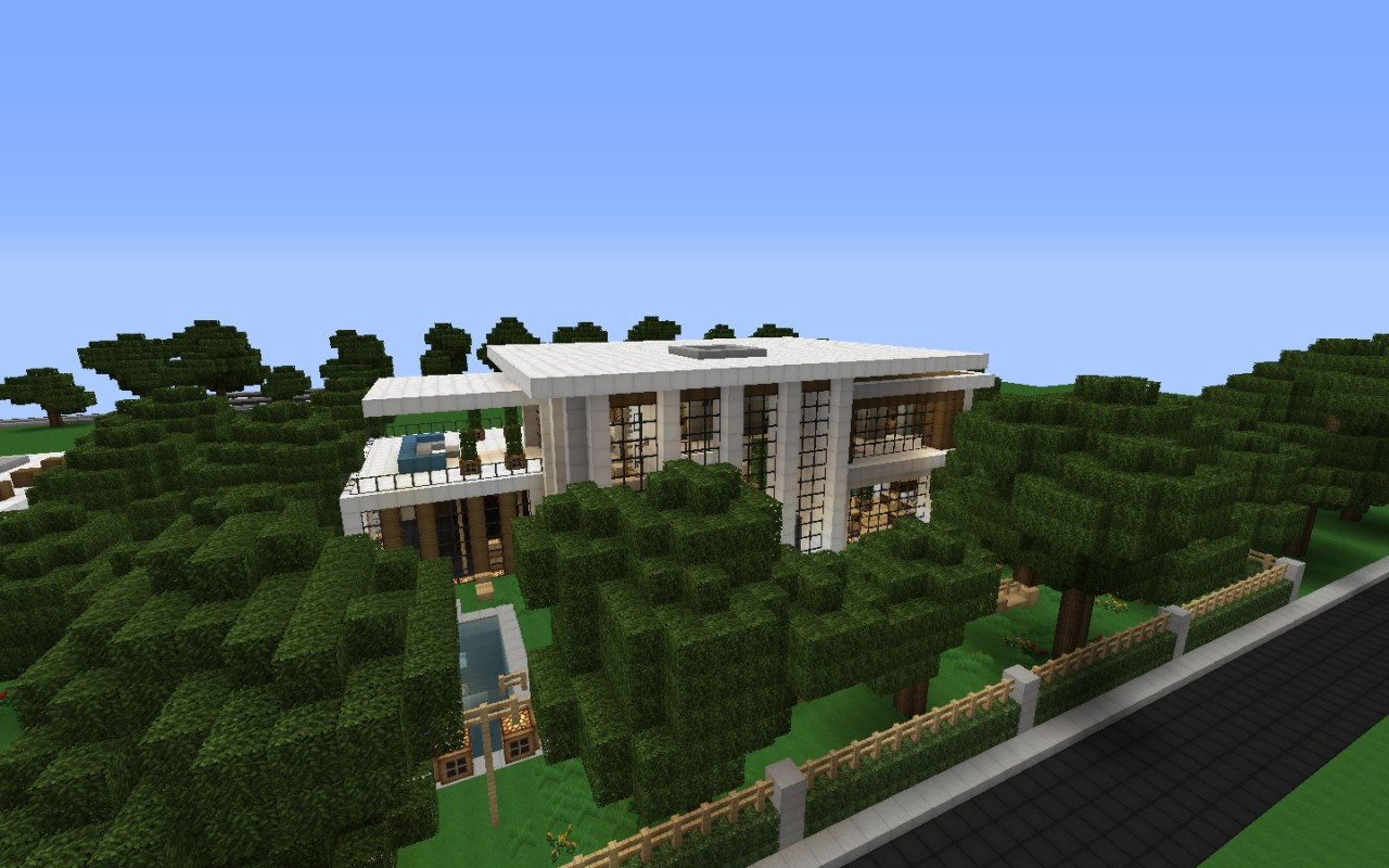 Modern House Series 2 Minecraft Project - ^