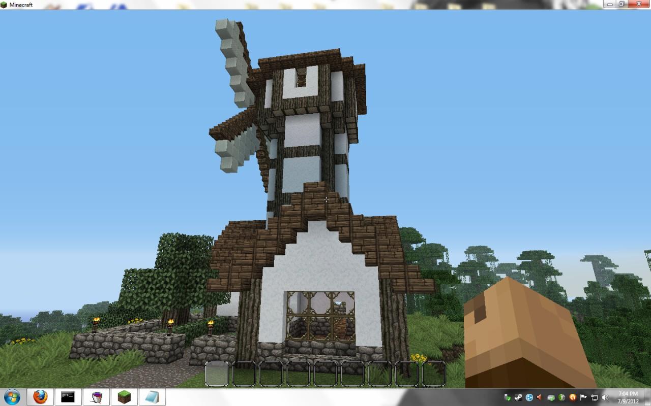 Windmill Minecraft Project
